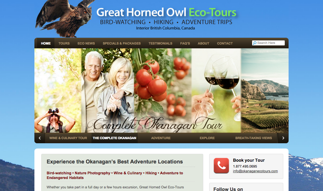 Great Horned Owl Eco Tours