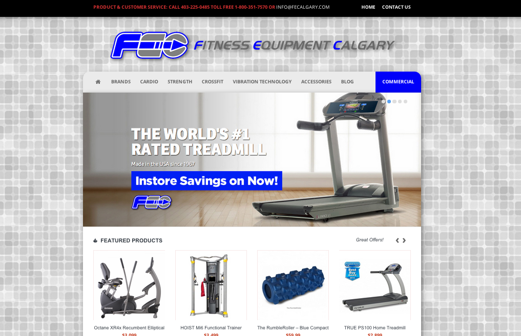 Fitness Equipment Calgary